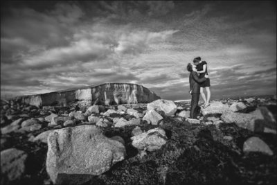 beautiful engagement photos from Galway, Ireland