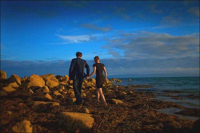 Irish engagement photos from Galway