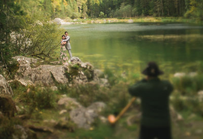A dream portrait session in the Bavarian Alps