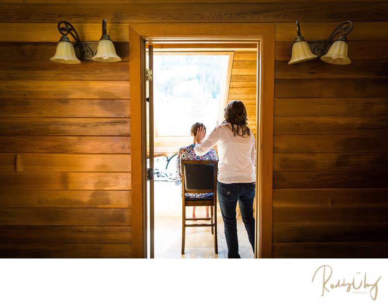 Photograph at Big House Lodge Wedding Cle Elum