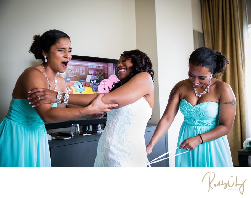Funny Wedding Preparation