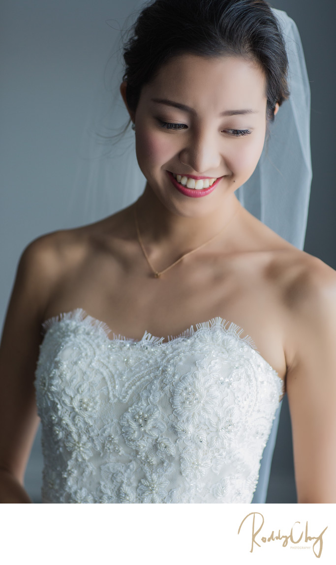 Destination Wedding Bridal Portrait