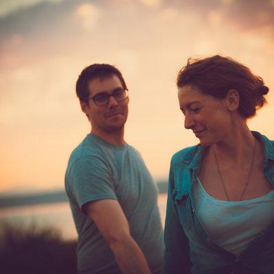 Emotional Couple Portrait