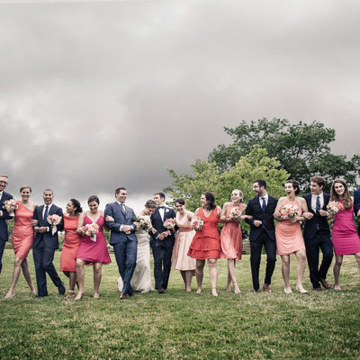 Wedding Party Picture Seattle Wedding Photographer