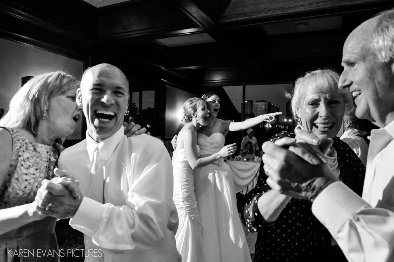 Dancing at The Boathouse