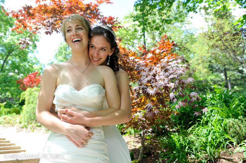 OSU Mirror Lake Wedding Photography