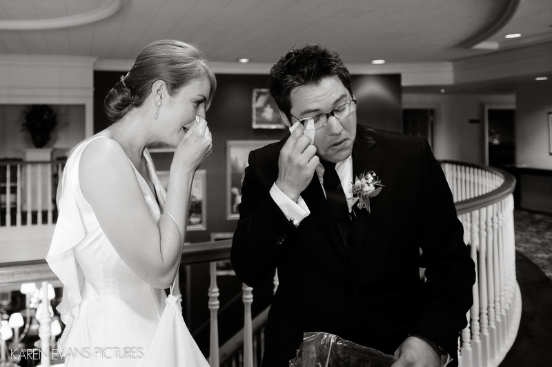First Look at Jewish Wedding