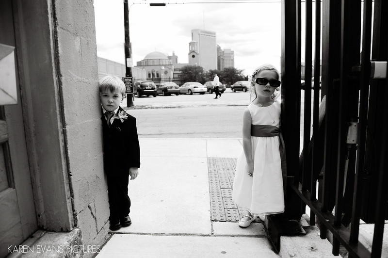 Kids on the Wedding Day