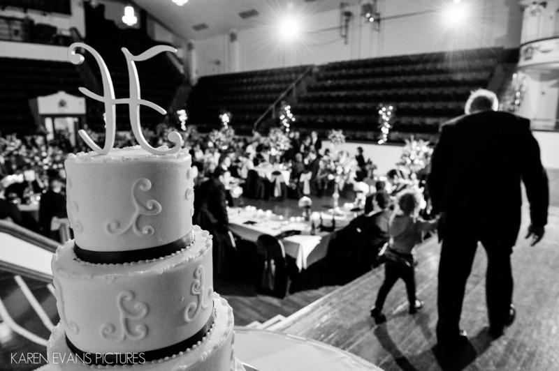Wedding Cake Picture Large Theater Columbus Athenaeum