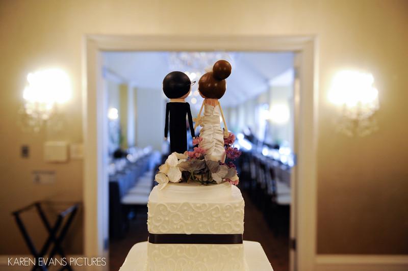 Cake Topper at Capital Club Wedding Columbus Ohio