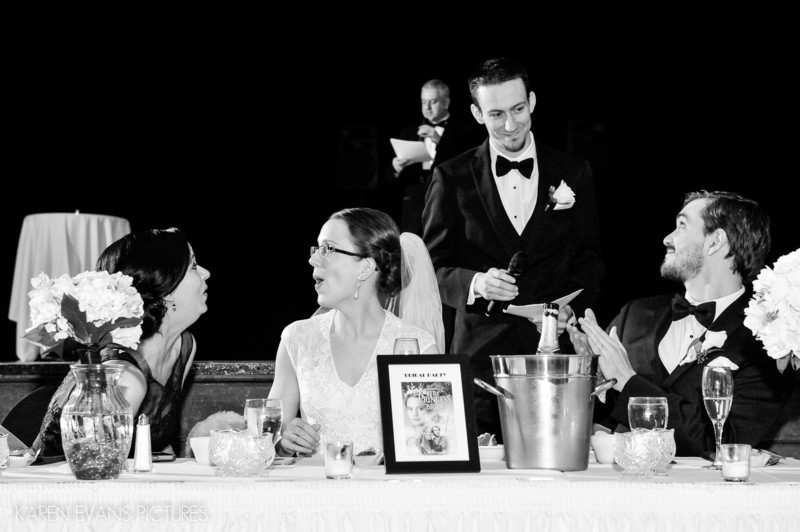 Toasts at The Columbus Athenaeum Large Theater