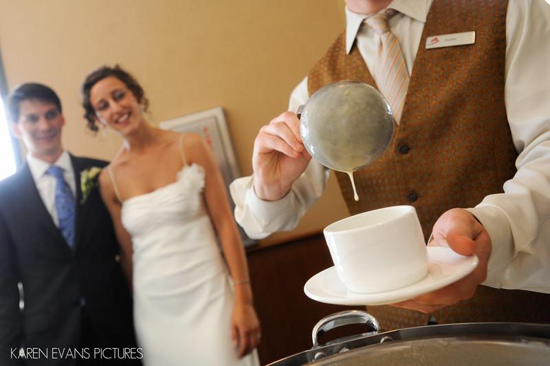 Wedding Reception at The Blackwell at OSU