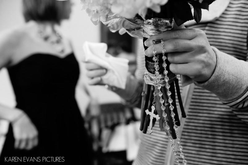 Wedding Bouquet Detail Columbus Ohio Photography
