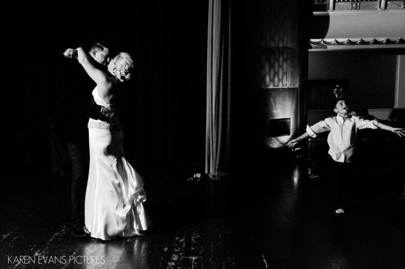 First Dance in Small Theater at Columbus Athenaeum