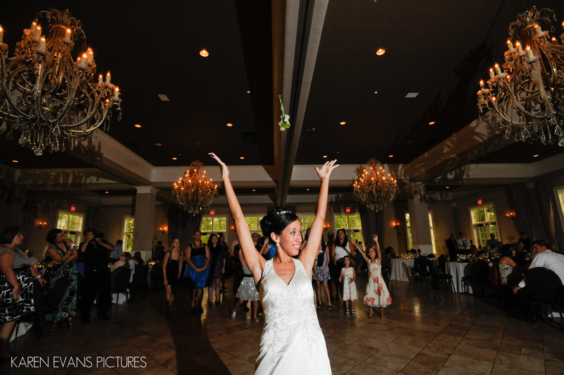 Wedding Reception at Pinnacle Golf Club Grove City