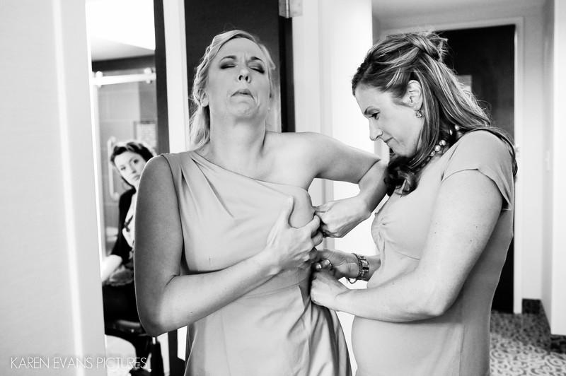 Bridal Prep at Hyatt Regency Columbus Ohio