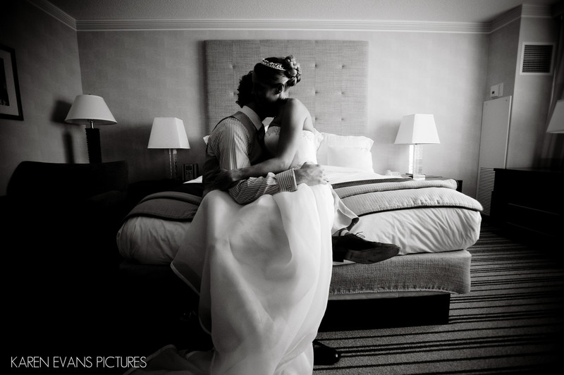 Wedding Portraits at The Renaissance Hotel Downtown