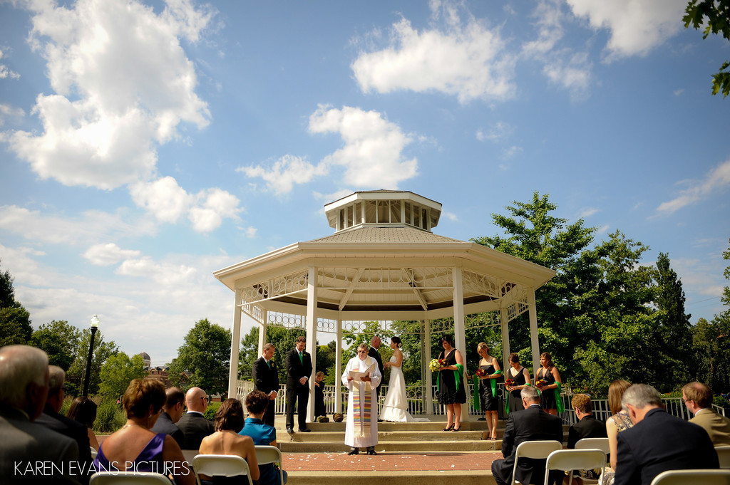 goodale park wedding photography columbus - Family Wedding Ceremony
