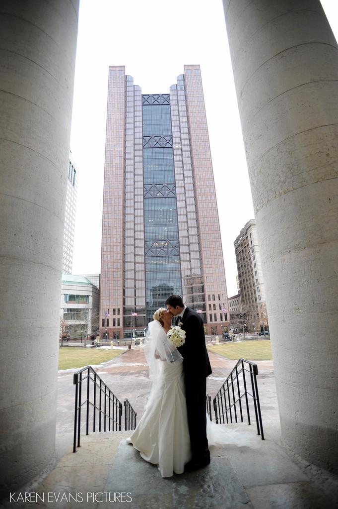 ohio state capitol wedding photography