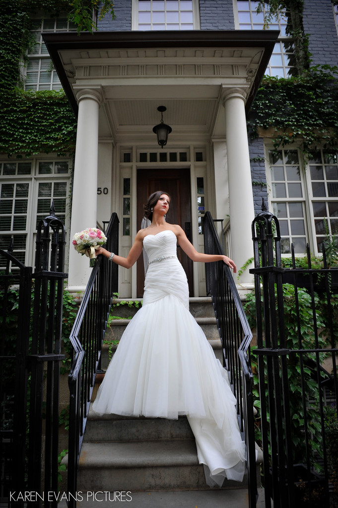 Downtown Columbus Bridal Portraits