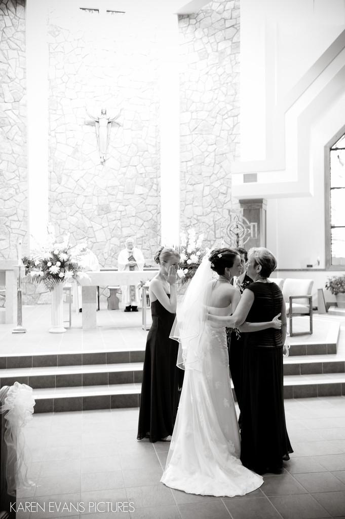 Wedding Photography at St Peter Catholic Church Powell