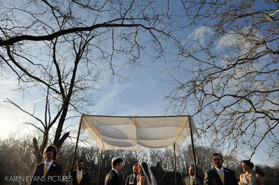 Jewish Chuppah Photos at The Darby House