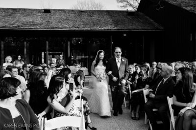 The Darby House Wedding Ceremony Photos