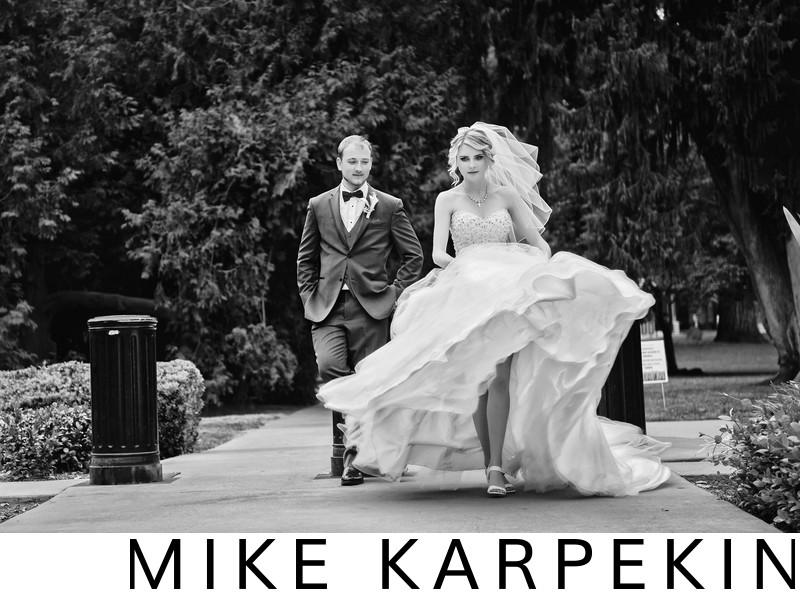 Sacramento Down Town Wedding Photos