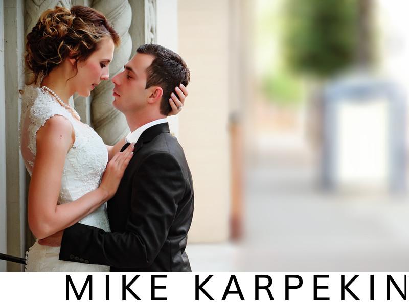 Wedding in Sacramento - Bride and Groom