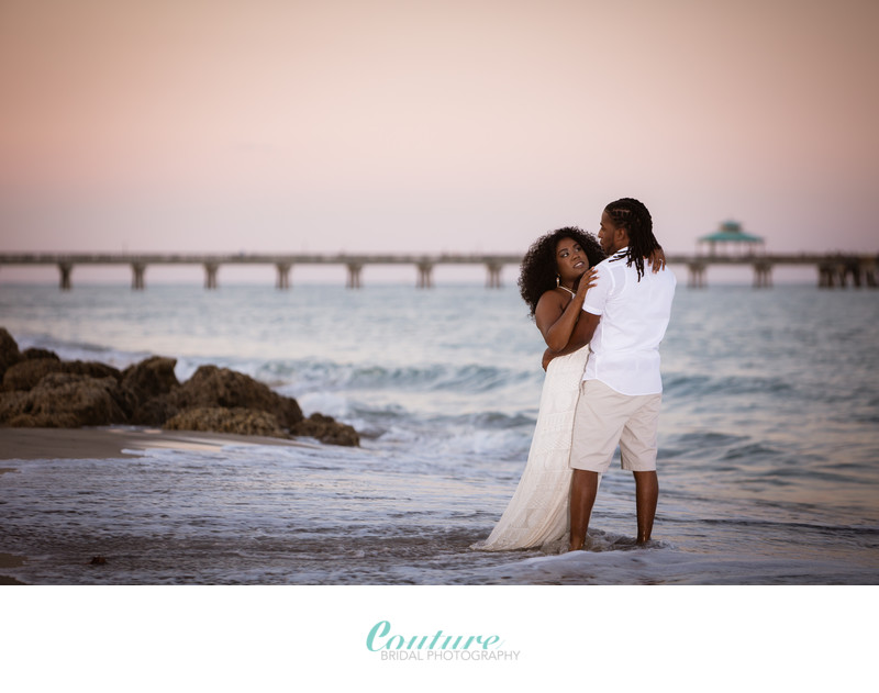 Top Fort Lauderdale Engagement & Wedding Photographer