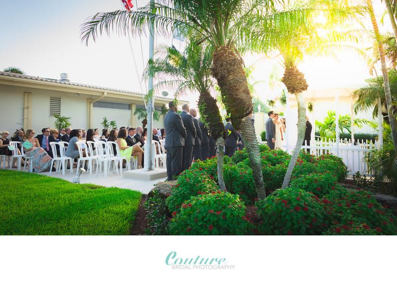 #1 Lighthouse Point Yacht & Racquet Club Wedding Photo