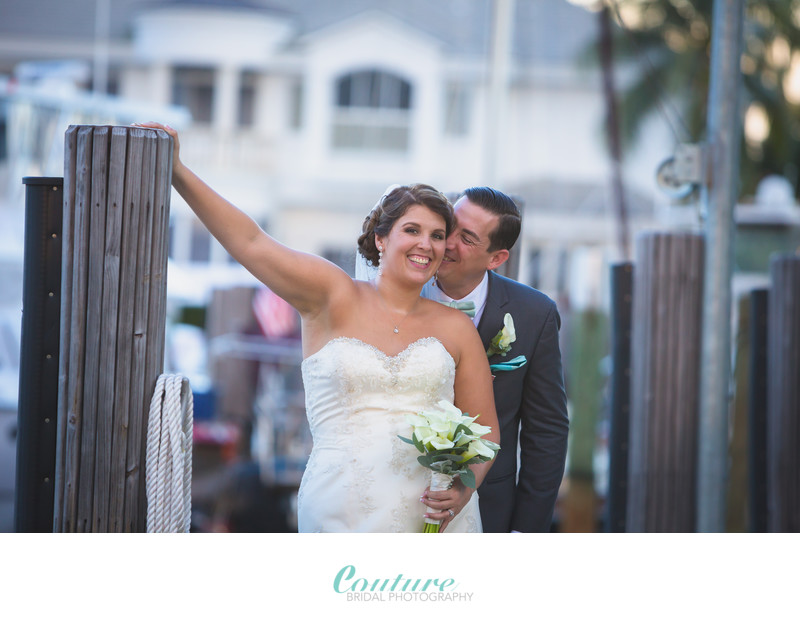 LIGHTHOUSE POINT YACHT CLUB WEDDING PHOTOGRAPHERS