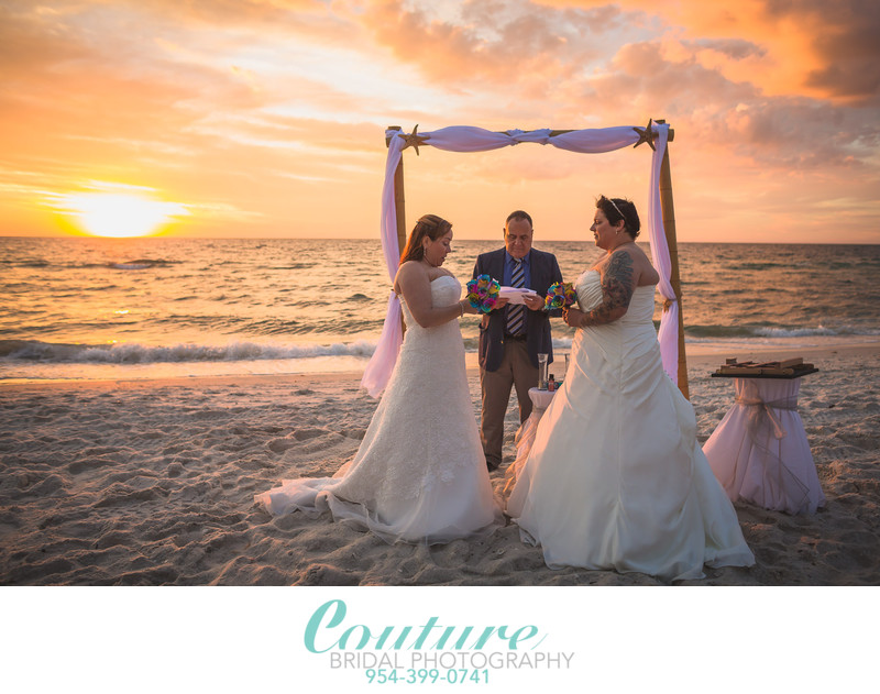 SAME SEX FORT LAUDERDALE WEDDING PHOTOGRAPHER