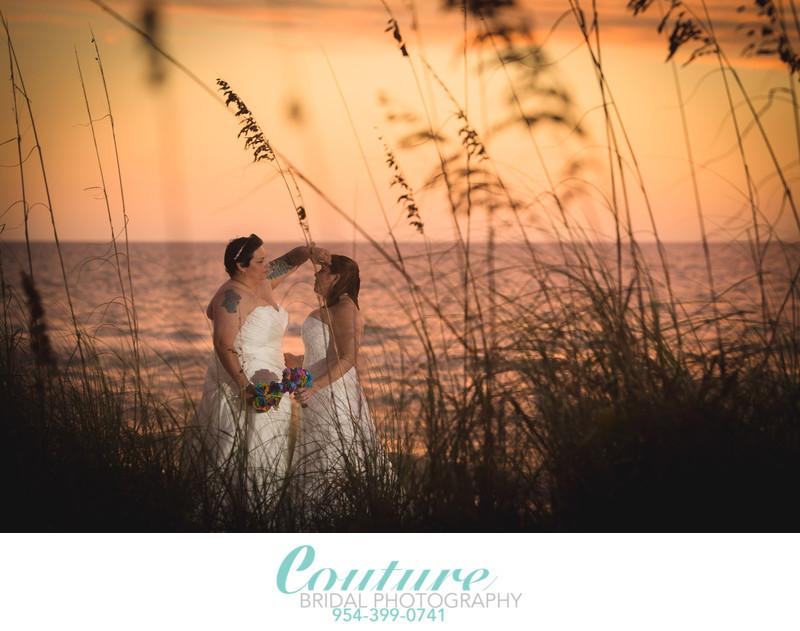 FORT LAUDERDALE GAY WEDDING PHOTOGRAPHER