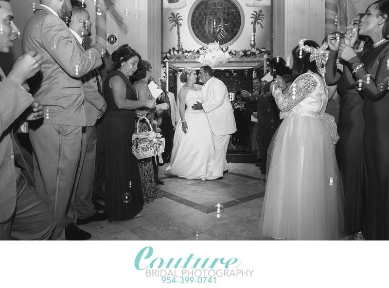 FORT LAUDERDALE CHURCH WEDDING PHOTOGRAPHER