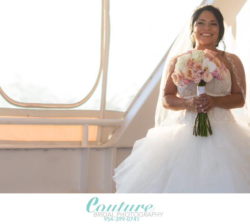 PREFERRED WEDDING PHOTOGRAPHERS SUN DREAM YACHT WEDDING