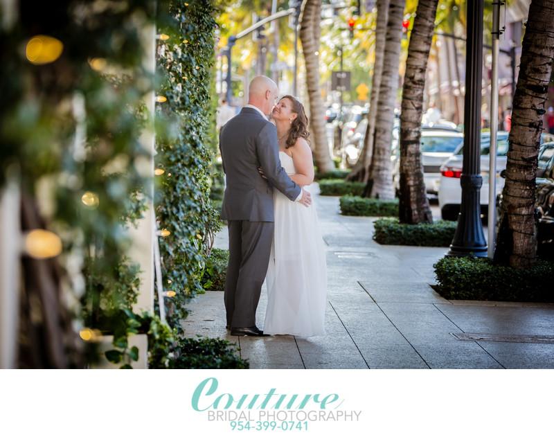 WORTH AVENUE PALM BEACH WEDDING PHOTOGRAPHY