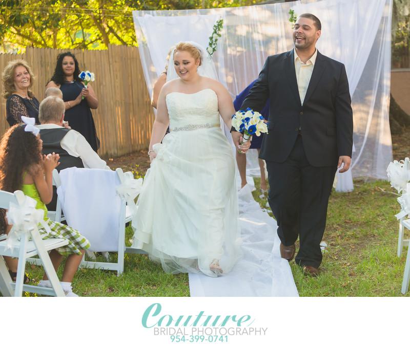 Candid Wedding Portraits Daytona Beach