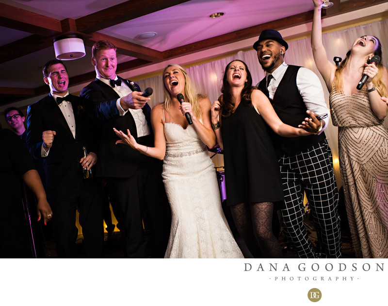 Ponte Vedra Inn and Club wedding reception with Royals