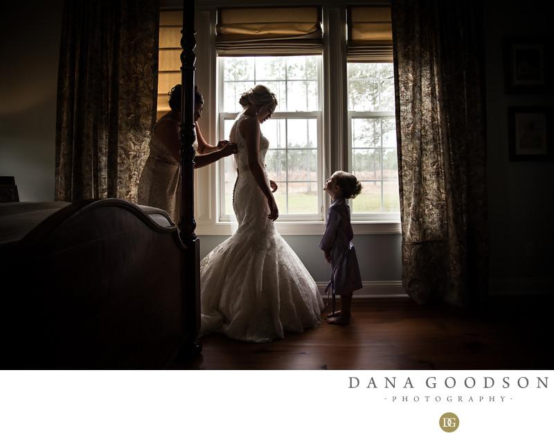 Mizell House Wedding in Folkston Georgia Photography