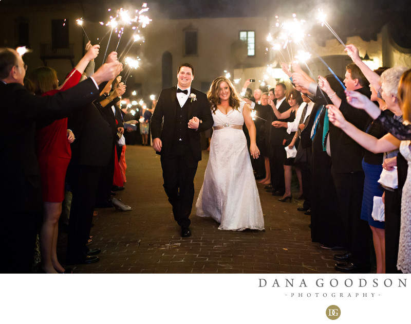 Epping Forest Wedding Photography with Sparkler Exit