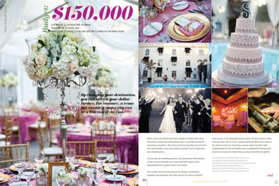 Luxury St Augustine Wedding at Casa Monica Hotel