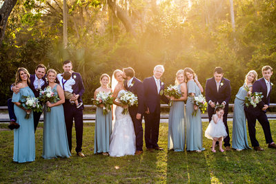 Ponte Vedra Beach Wedding at The Outpost bridal party