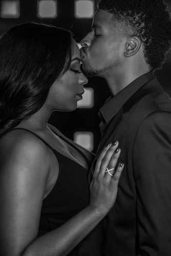 African American Dallas Engagement Photographer
