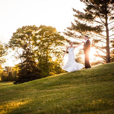 Center Square Golf Club Wedding Photos