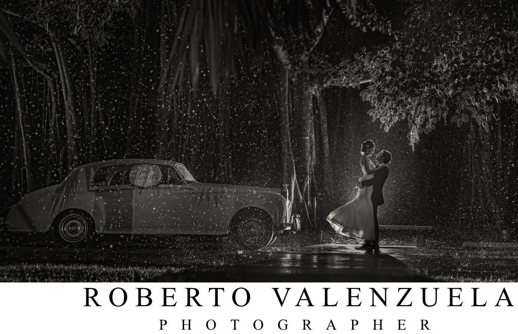 ringling museum rain wedding photograph at night portfolio. Black Bedroom Furniture Sets. Home Design Ideas