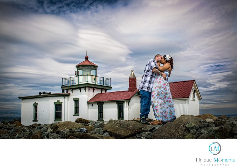 Discovery Park Seattle Engagement