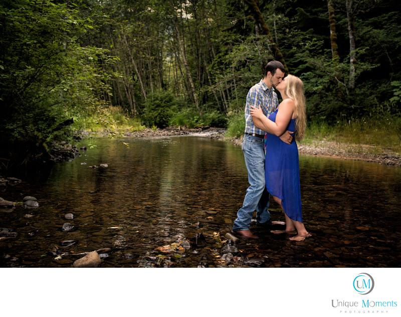 Mt Rainier National Park Engagement Sesson