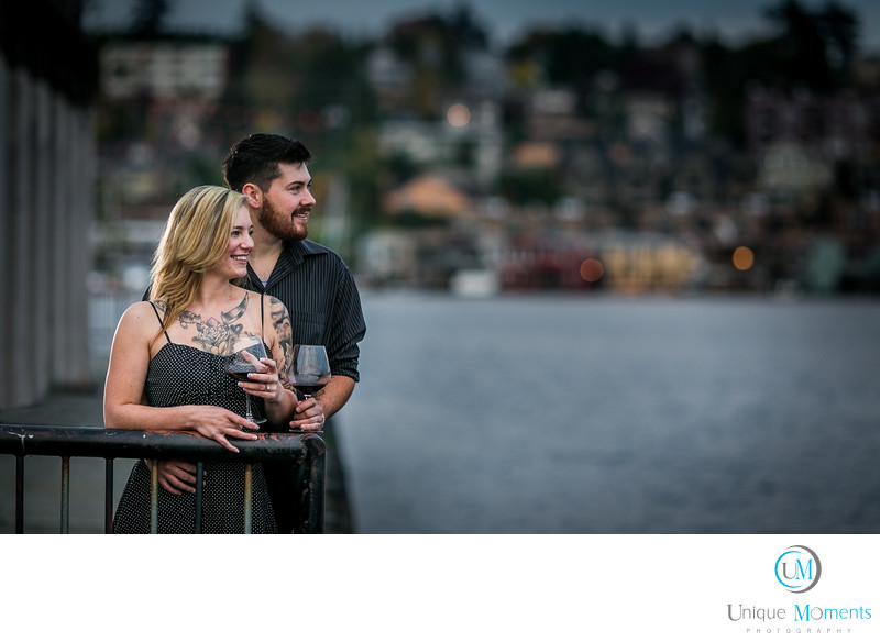 Gas Works Park Engagement Session Seattle WA 98103