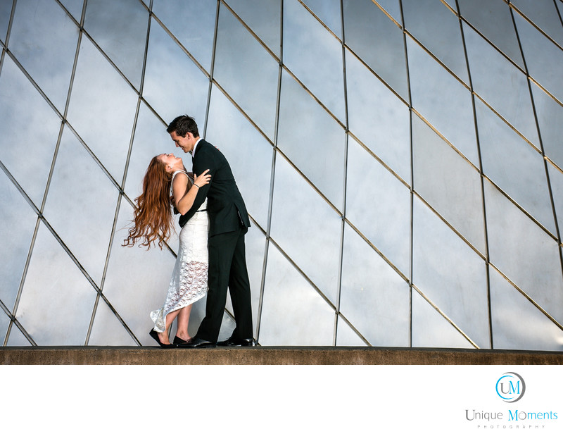 Museum of Glass Engagement picture Tacoma Wa
